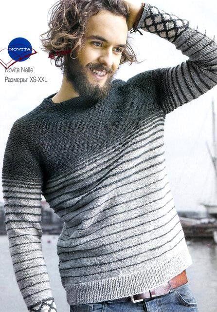 Hombre suéter raglán