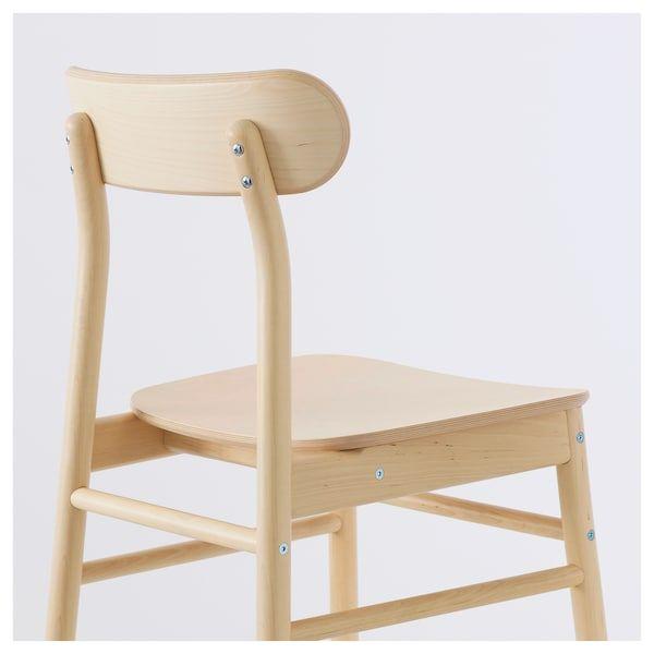 Ronninge Stuhl Birke Ikea Deutschland Moderne