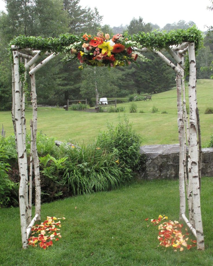 Diy Rustic Wedding Arch: 103 Best Images About Arbors On Pinterest