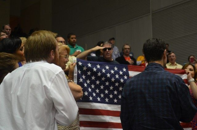 'God Bless America' – Song and Prayer Break Out During Garland Shooting Lockdown - Breitbart