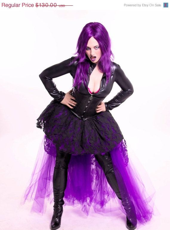 On SALE Adult Tutu Skirt Bridal Extra Poofy Party Costume Halloween Dance Prom Gothic Goth Bustle