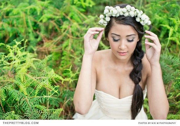 A rain forest fantasy   Styled Shoots   The Pretty Blog