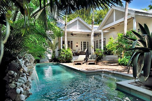 Heavenly Zen – a 4 bedroom, 3 bathroom classic Key West conch house with a back yard that is as close to heaven as it gets!