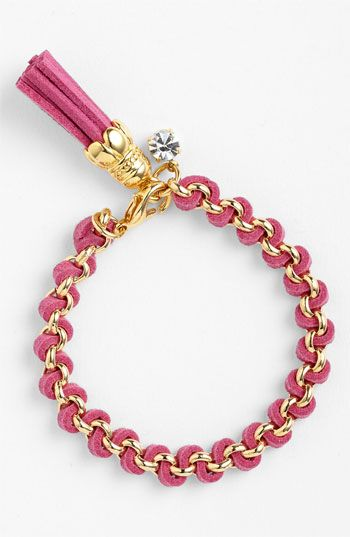 Cara Link Bracelet available at Nordstrom Want this in navy and one other color of your choice.