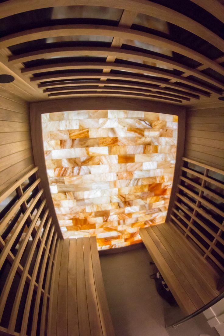 Luxury Home Sauna Cedardirect Com: 22 Best Custom Infrared Saunas Images On Pinterest