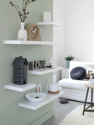 Wall Floating Shelves Styling | Kim Timmerman.