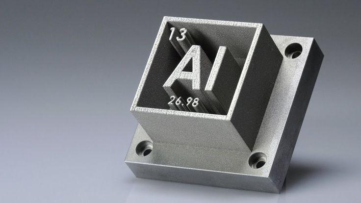 La Impresión en 3D de Aluminio con Nanopartículas