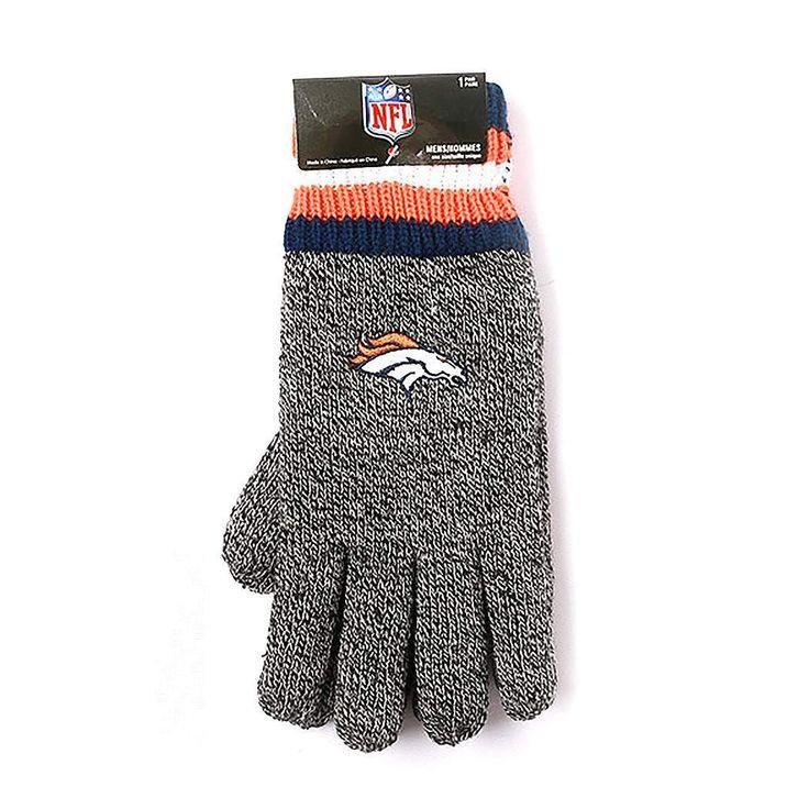 Denver Broncos Thermal Gloves