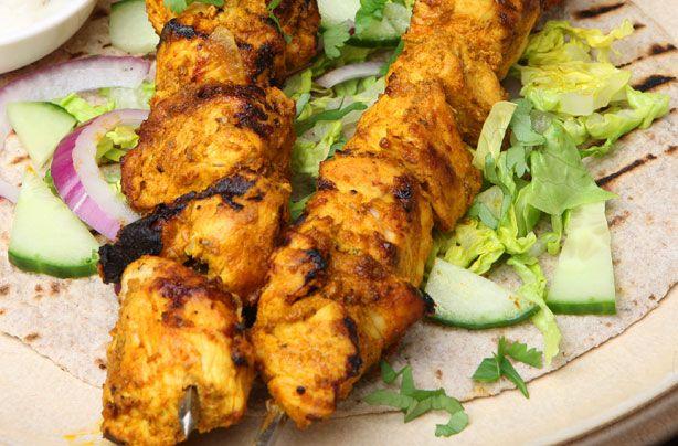 Pork kebabs tandoori-style recipe - goodtoknow