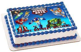 Resultado de imagen para rescue bots transformers cake