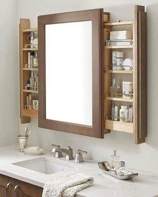 Pin By Anka Tarnoci On Storage Ideas Easy Bathroom Decorating Wooden Bathroom Cabinets Rustic Bathroom Vanities