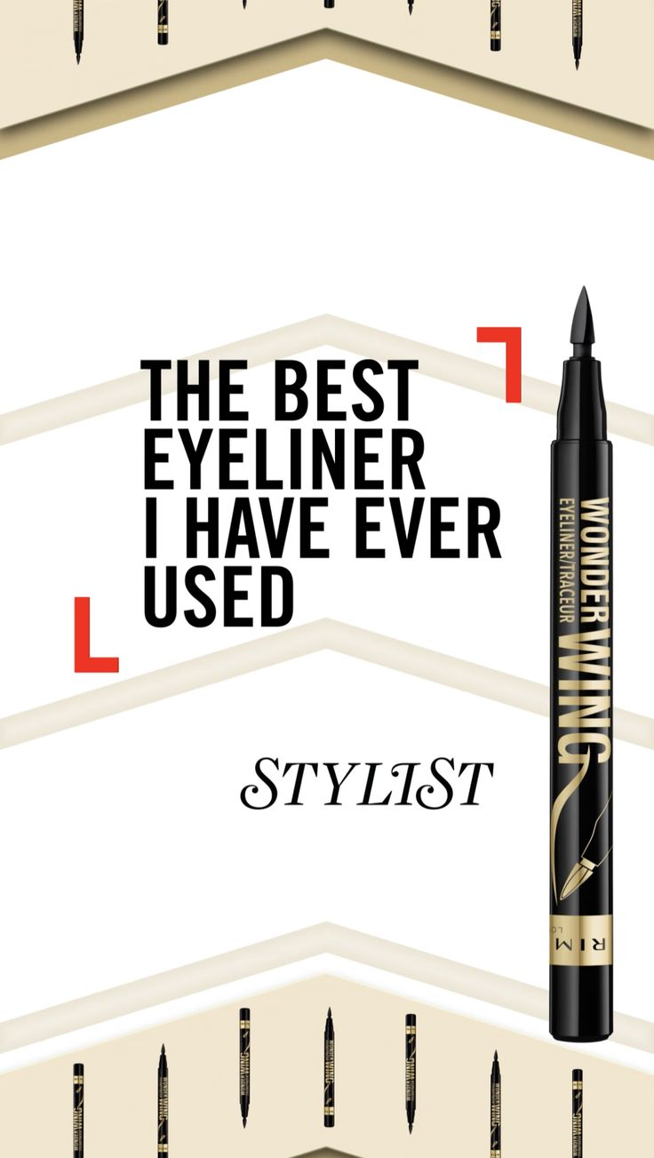 #WingTheLook in just three steps.   Step 1. Line, stamp and wing. Use NEW Wonder Wing Eyeliner to line lids, then stamp on perfect wings using the flat side of the built-in applicator.    Step 2. Get stunning length and gorgeous volume. Step up your lash game with Wonder'fully Real Mascara, featuring 4mm nylon fibres to build fullness.  Step 3. Get your eyeshadow on point using Magnif'eyes Nude Edition Palette. Start with a light base shade and build up darker shades add drama.