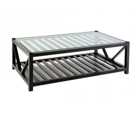 Seville Rectangular Coffee table | Black | Hamptons Style Furniture – Salt Living or online at www.saltliving.com.au #saltliving #xavier #furniture #coffeetable