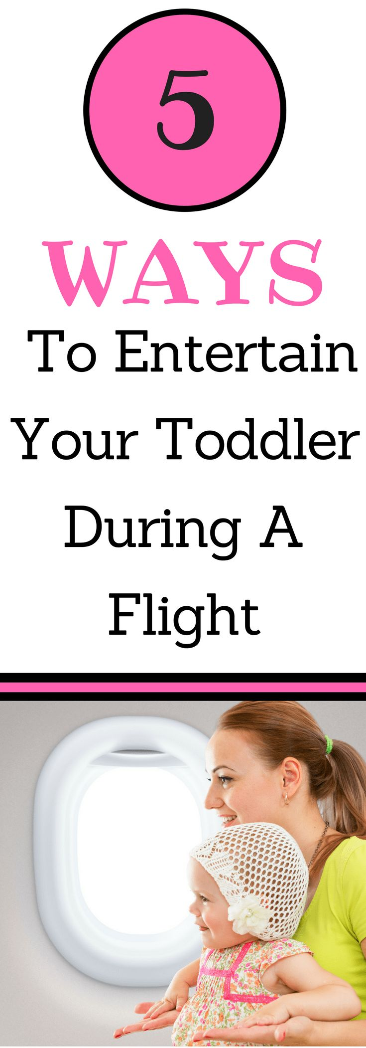 Are you looking for ways to have a stress free flight with your toddler? Use these simple and quick activities to entertain your toddler during any flight!