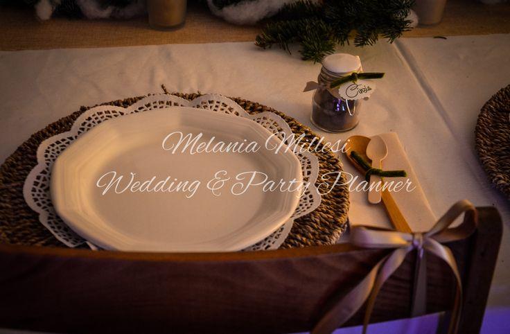 Dettagli di mese en place country Allestimenti ... Wedding e Party Planner Catania Melania Millesi http://www.melaniamillesi.it/