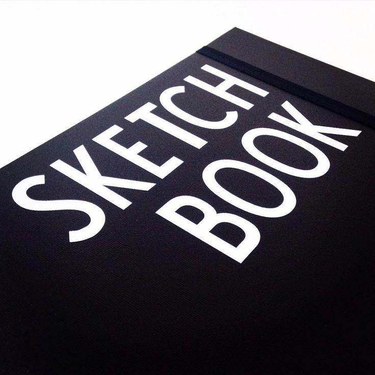 """You never know when -Ideer kan komme på de mest mærkelige tidspunkter - derfor har jeg altid min fine """"sketch book"""" fra @designletters med mig. Og så gør det jo heller ikke noget at den er lækker at se på. @smilecreations_dk #ideas #you #never #know #when #they #come #to #you #little #business #sketchbook #creativity #designs"""