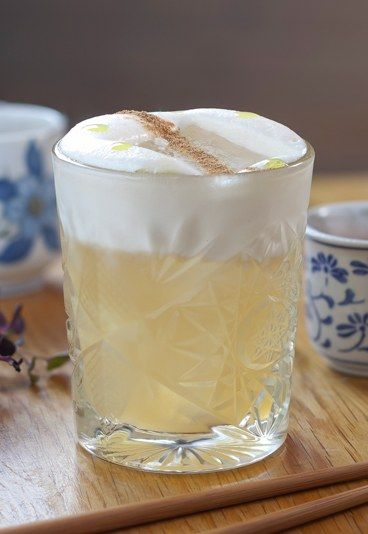 Truffled Japanese Whisky Sour - Whiskey cocktails: The best Whiskey tipples - Think of whiskey cocktails - think of whiskey sours. This cocktail from Chris Edwards of The Parlour has a bit of a truffley twist to it but if you can spare the cash, it will be well worth it...