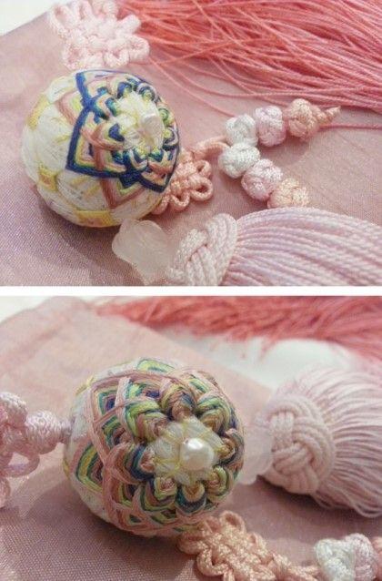 [손공자수] 한복 노리개, An embroidered ball korean accessory