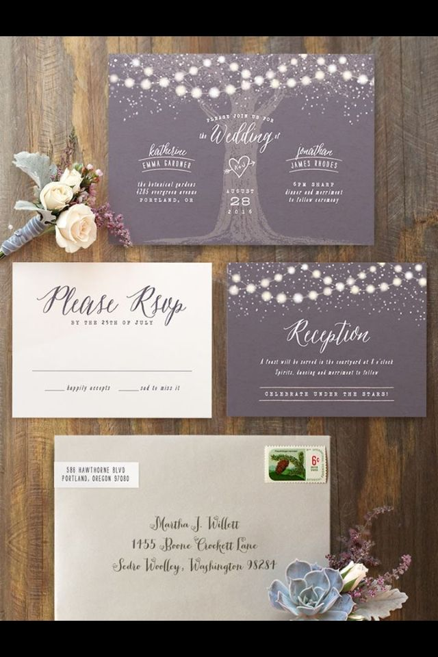 wedding renewal invitation ideas%0A Magical wedding invitation suite to set the tone for your perfect summer  evening wedding  Stationery by Minted