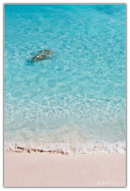 The most beautiful water I have ever seen. And pink sand. (Bermuda)