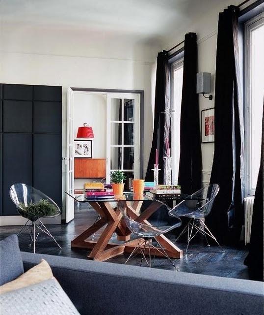 appartement ancien au Brésil.: Design Inspiration, Dining Area, Favorite Design, Fabulous Apartment, Interiors Oth, Interiors Design, Dining Spaces, Design Cities, Design File