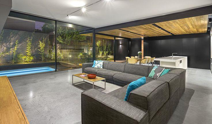 California bungalow renovation - Living area