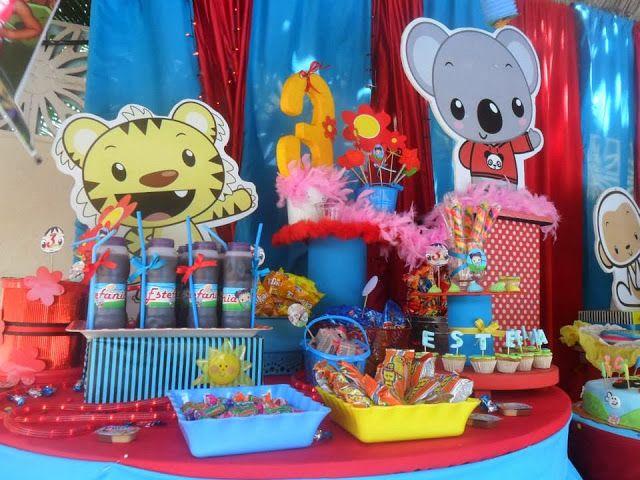 Castillos Eventos... de Ursula Newman: decoración Fiesta Infantil KAILAN NIHAO