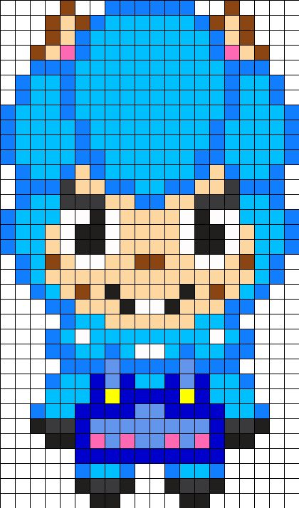 17 Best images about Animal crossing perler hama on ... - Pixel Art Animal Crossing