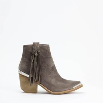 JEFFREY CAMPBELL PASCAL  Ankle Boots Taupe Suede