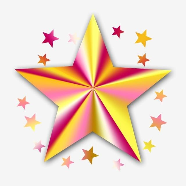 Star Radial Gradient Effect Transparent Png Free Download Png And Psd Clip Art Christmas Star Star Clipart