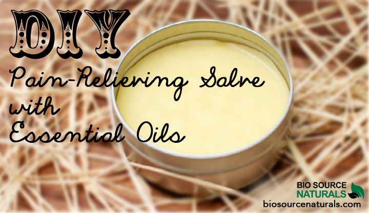 DIY Pain-Relieving Salve with Essential Oils. Wintergreen and birch essential oils are wonderful but extremely potent and should be handled with care. Birch and wintergreen are nature's painkillers, which is why they are perfect for a pain-relieving salve. Be sure to only use pure, therapeutic essential oils! Use this salve for joint pain, rheumatism, sore muscles, arthritis, headaches, inflammation, cramps, sprains, frozen shoulder, tendonitis, and other pain.