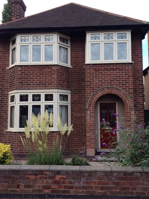 Traditional cream upvc windows home decor pinterest for Upvc window designs