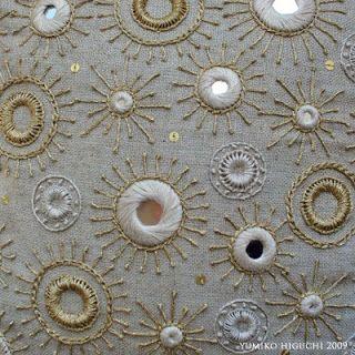 Shisha Mirror Embroidery, my new love by Misako Mimoko