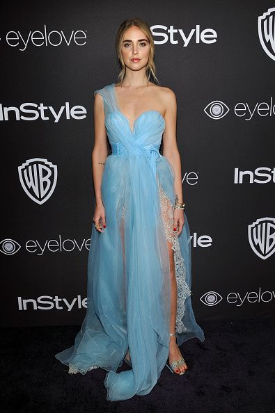 Chiara Ferragni attends The 2017 InStyle and Warner Bros 73rd Annual Golden Globe Awards PostParty at The Beverly Hilton Hotel on January 8 2017 in...