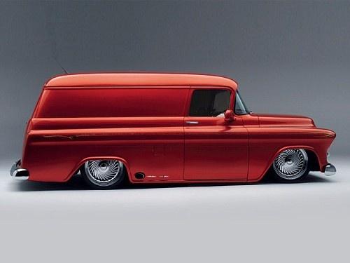57 Chevy Panel Truck