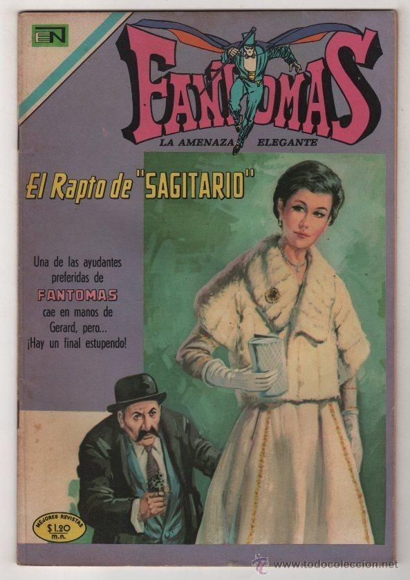 FANTOMAS # 39 NOVARO 1970 RUBEN LARA 200 EJEMPLARES A LA VENTA EL RAPTO DE SAGITARIO