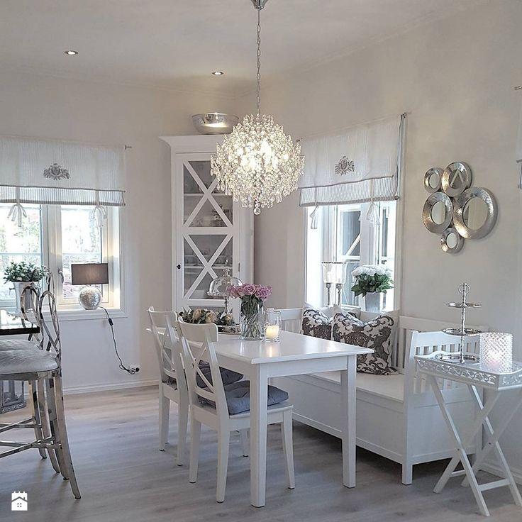 Wnętrza w stulu PROWANSALSKIM I SHABBY CHIC - Jadalnia, styl prowansalski - zdjęcie od PRIMAVERA-HOME.COM