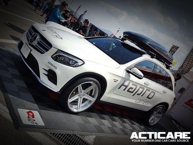 20170312 FUJI WONDERLAND FES!   ACTICARE RH3 use HAPRO Japan Mercedes Benz GLC #acticare #acticarerh3