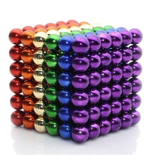 Sculpture Building Ball Toys Magic Blocks Sculpture Ball,Education Ball Magnets Toys 216 Pcs 5mm Magnetic Balls