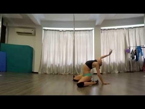 Beginner Exotic Pole Dance Floorwork Routine Wicked Games - The Weeknd - YouTube #PoleDancingVideos