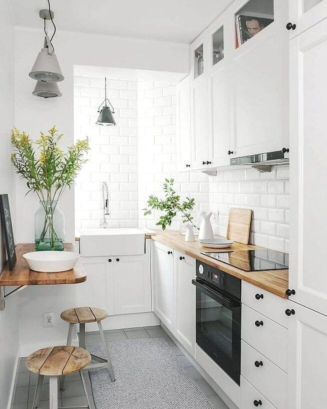 51 Small Kitchen Design Ideas That Make The Most Of A Tiny Space Architectural Digest Small Kitchen Decor Kitchen Design Small Tiny Kitchen
