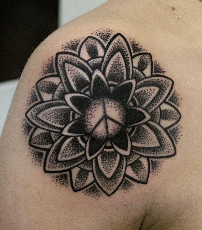 tatuaggio realizzato da matteo