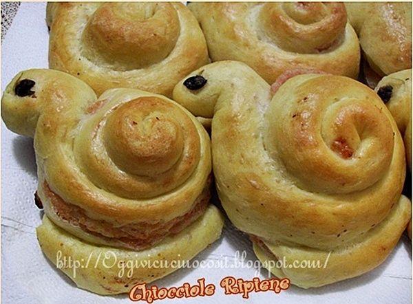 ©Oggi vi cucino così!: Chioccioline ...o Lumachine-Sfiziosità ripiene.