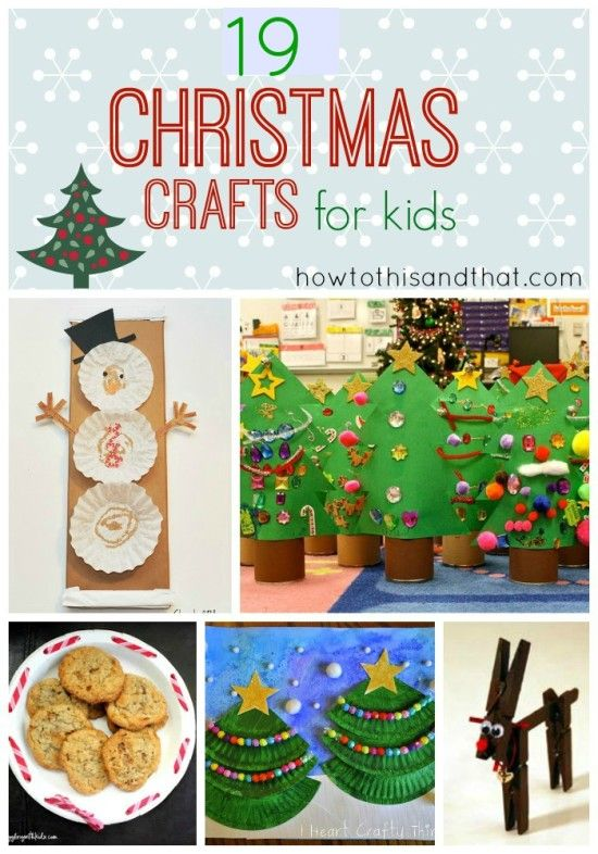 53 Best Holidays Christmas Kids Crafts Activities Images
