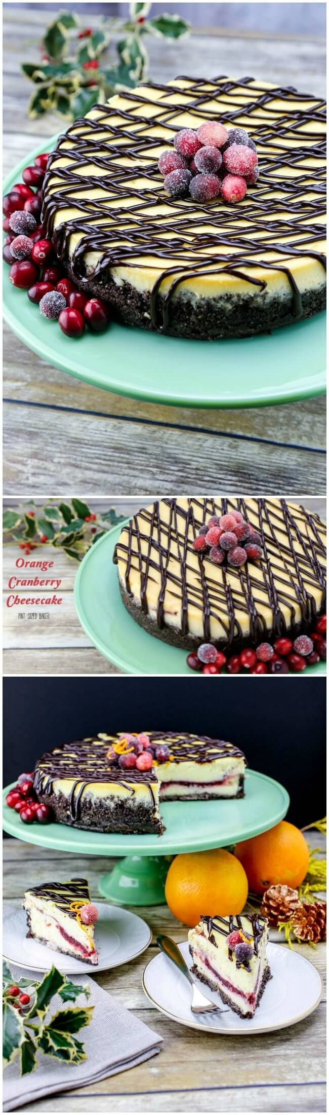 This holiday season enjoy this Cranberry Orange Cheesecake Recipe with your family and friends with great conversation and a cup of coffee.Made in partnership with @Wilton