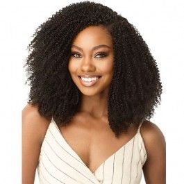 Outre Human Hair Blend Big Beautiful Hair Clip In 9 – 4C COILY FRO 10″