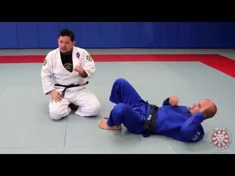 Armbar Escape from Guard (Saulo Ribeiro - BJJLibrary.com) - YouTube