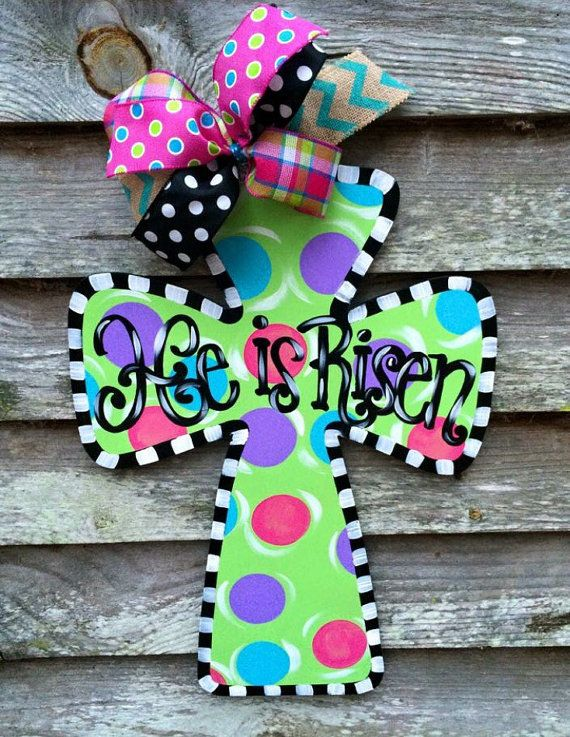 Wooden Cross Door Hanger