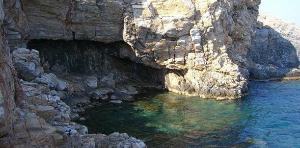 Agathonisi island in Greece