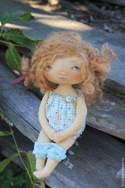 Куклы тыквоголовки ручной работы. Ярмарка Мастеров - ручная работа Малыши-карандаши. Handmade.
